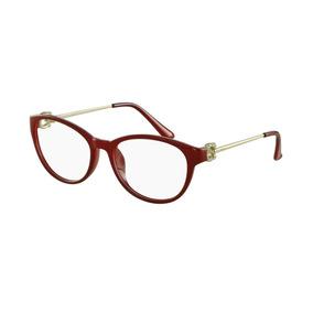 Otica Diniz Armaçoes De Grau Modernas Armacoes - Óculos Vermelho no ... 2914a04dc4