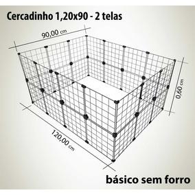 Cercado Gaiola Porquinho Da Índia Coelho Aramado 120x90x60