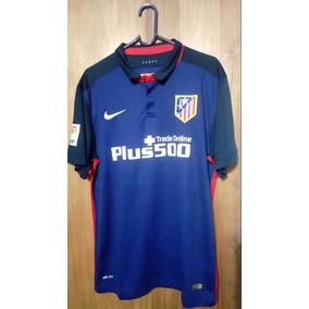 Camiseta Del Atletico De Madrid Alternativa Azul - Camisetas en ... 7d3b23ee1e4cb