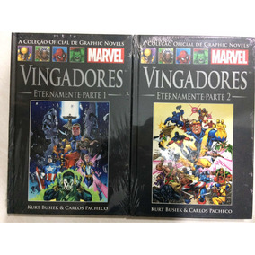 Vingadores Eternamente Pate 1 E 2 - Marvel - Graphic Novels