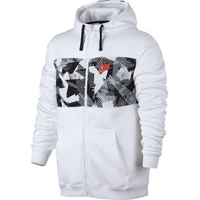 Jaqueta Nike Nsw Hoodie Fz Masculina 831830-100 - M - Branco 080122ef56b16