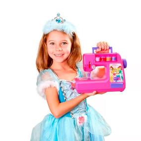Máquina De Costura Brinquedo Infantil Princesas Br026 Disney
