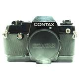 Câmera Contax 137 Md Quartz Reflex 35mm - Só O Corpo