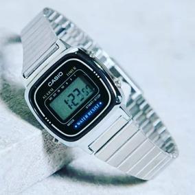 da642df35be Relogio Casio La670 Dourado Azul - Relógios De Pulso no Mercado ...
