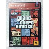 Ps2 Grand Theft Auto Gta 3 Nuevo