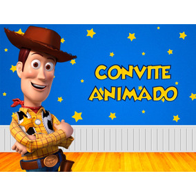 Convite Animado Toy Story