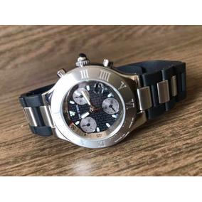 cb734658c3f Relógio Cartier 21 Chronoscaph Usado - Relógios De Pulso