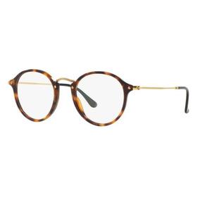 Armação Oculos Grau Ray Ban Rb2447v 5494 49mm Marrom Havana 4b261266cb