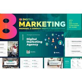 Apresentação De Negócios - Digital Marketing