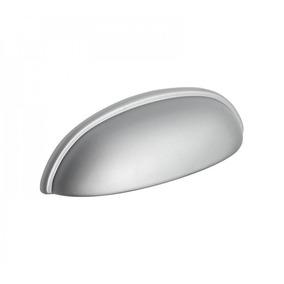Puxador Concha Zamac 1600 Cromado 64mm [ H.1600/64 ] - Metal