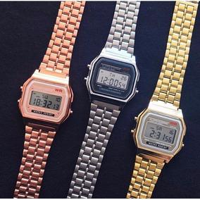 813288ce808ff Relogio Casio Dourado Pulso - Relógio Casio no Mercado Livre Brasil