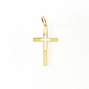 Pingente Crucifixo Ouro Maciço Grande - Pingentes no Mercado Livre ... 99c58f2888