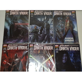Coleção Hqs Star Wars Darth Vader Panini