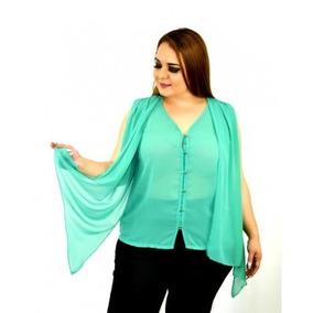 Blusa Talla Extra # 4053