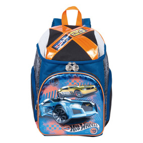 Mochila Infantil Escolar Costas Hot Wheels 18z 64936 G