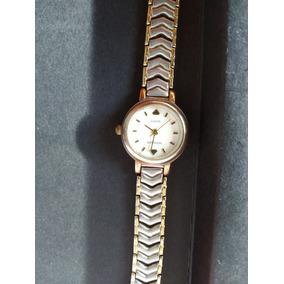 d8cf1cf473f Belo Relógio Mondaine - Dourado Com Prata - Ótimo Estado