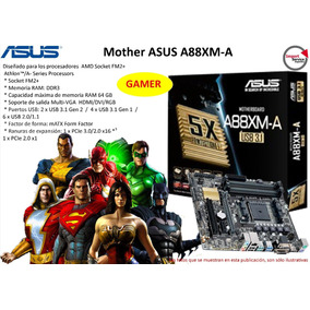 Mother Asus A88xm-a 1151 Ddr3 Multi-vga Athlon 64gb Gamer