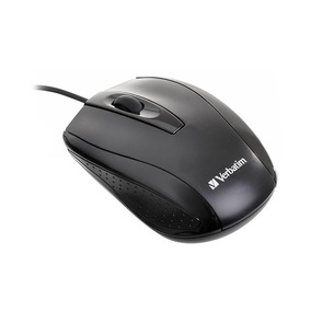 Mouse Optico Con Cable Verbatim Negro 98106