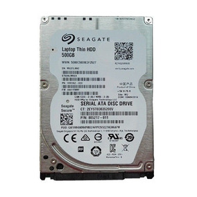Hd Slim Notebook Seagate 500gb Sata3 6gb/s 7200rpm Lacrado