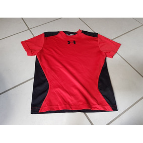 Playera Rojo Y Negro Under Armour 8 - 10 Años