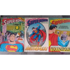 Super Homem Especial 1, 2 E 3 - Abril - 1989