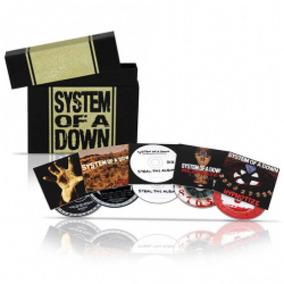 Coleção System Of A Down Com 5 Cds