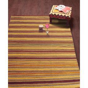 Kilim Stripe Bazhars De Lana Multicolor 1128 200 X 300 Cm