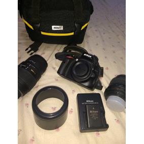 Câmera Nikon D5100 Semi-nova + Acessórios - Oportunidade!