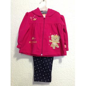 Abrigo Y Pantalon Para Niña