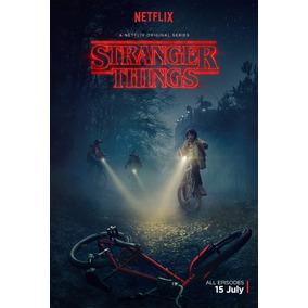 Poster E Adesivos 22x32 A4 Stranger, Sobrenatural, Etc...