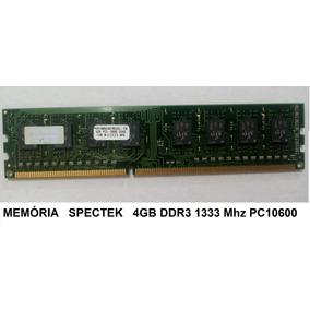 Memória Spectek 4gb Ddr3 - 1333mhz - Pc10600