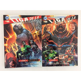 Cómic, Dc, Justice League, Pack Darkseid # 1 Y # 2 Ovni Pres