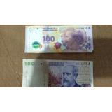 Billetes 100 Roca Y Evita, Ambos Serie A