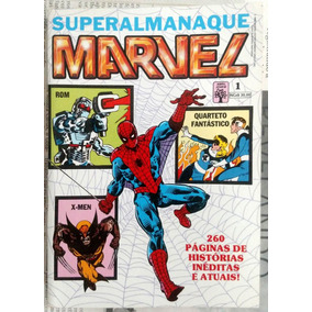 Superalmanaque Marvel - Editora Abril - Números 1 E 2 Novos!