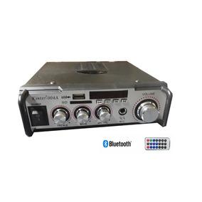 Amplificador Audio Stereo Bluetooth Karaok Controle 220v