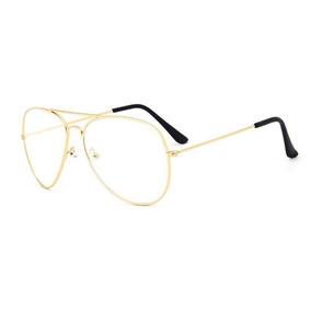 dccf1f8186c55 Armação Para Óculos De Grau Retro Estilo Clássico - Óculos no ...