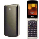 Celular Lg G360 Cinza Flip Teclado Tela Grande Dual Sim