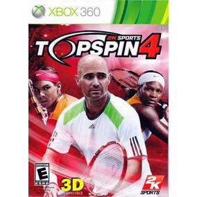 Top Spin 4 Xbox360 Original Usado