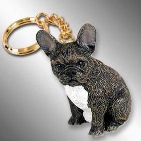 Cachorro Bulldog Francês Chaveiro Importado Miniatura
