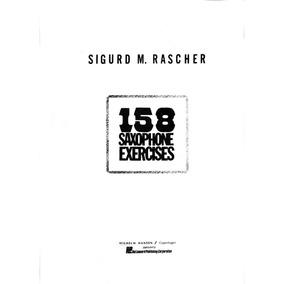 Metodo De Jazz Para Saxofon Sigmund Rascher 158 Exercice