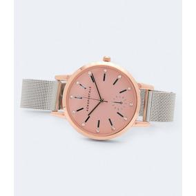 26e6c282999 Relogio Aeropostale Rosa Feminino - Relógios no Mercado Livre Brasil