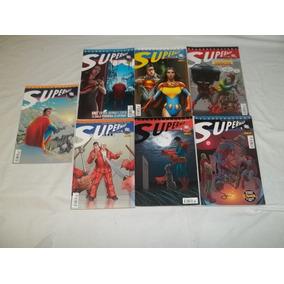 Lote Serie 7 Gibis Superman Grandes Astros H48
