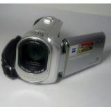 Camara Sony De Video - Modelo Dcr-sx41 - Color Gris