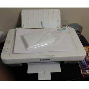 Impresora Canon Mg2520 (sin Cartuchos)