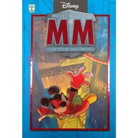 Livro Mickey Mistery - O Detetive Das Trevas, Capa Dura