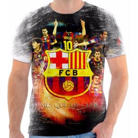c59a3b7c3e Camisa Camiseta Personalizada Do Time Barcelona