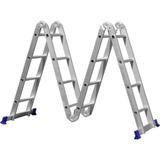 Escada Alumínio Articulada 4x4 16 Degrau Multifuncional Real