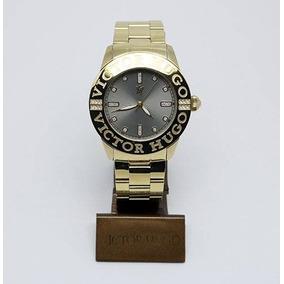 bad4d82e65f Relogio Dourado Unicta - Relógios De Pulso no Mercado Livre Brasil