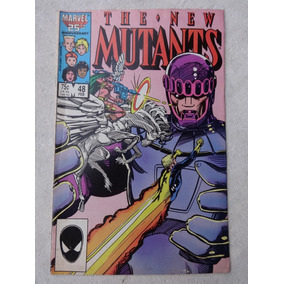 The New Mutants Nº 48 - Jackson Guice - P. Craig Russel 1987