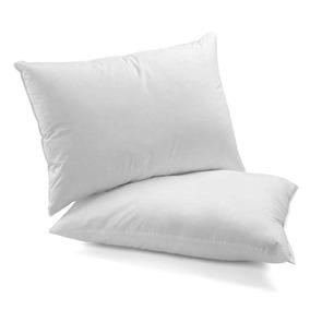 Kit 2 Travesseiros De 100% Fibra De Silicone Antialérgico